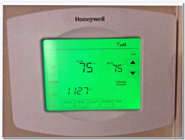 Honeywell Wifi Thermostat rth8580wf Reviews