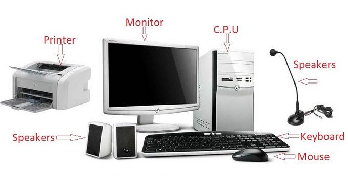 Komponen Komponen Komputer Beserta Fungsinya