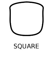 square shape face