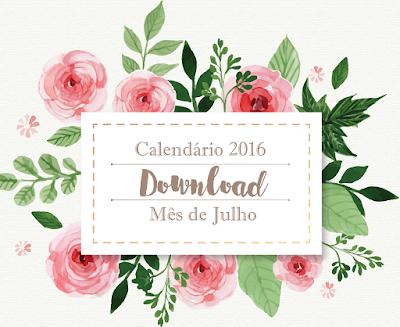[Download] Calendário Julho