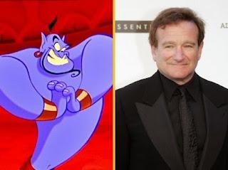 Robin Williams, jadi Inspirasi Karakter Genie
