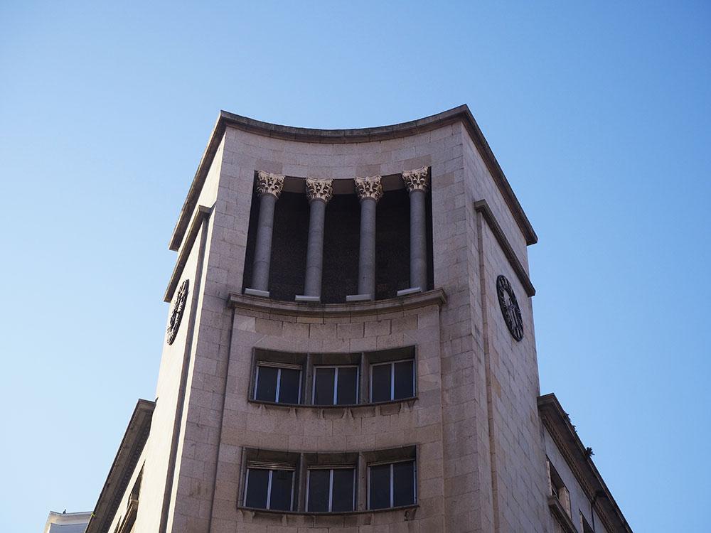 Edificio Caja de Ahorros Gijón