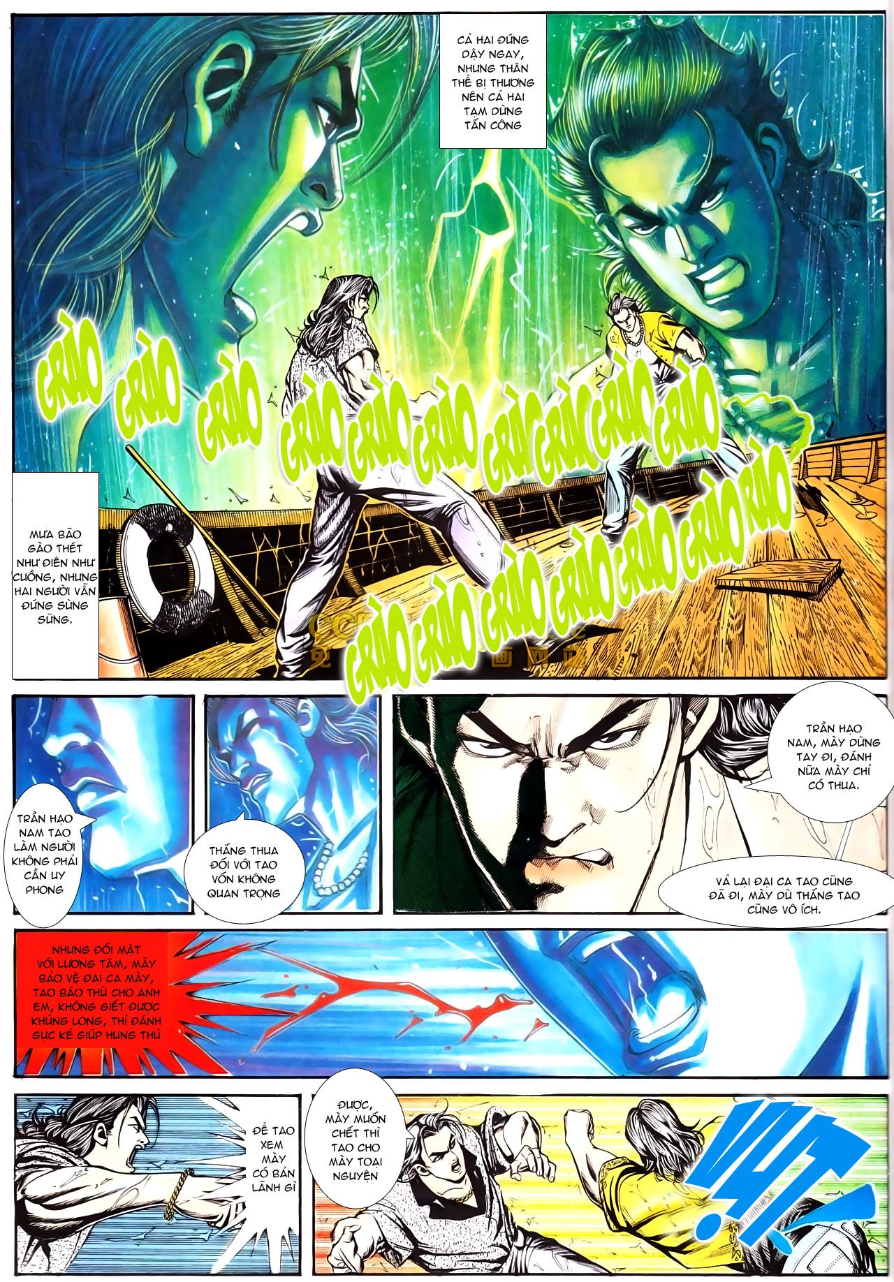 Người Trong Giang Hồ chapter 169: kết cục khủng long trang 23