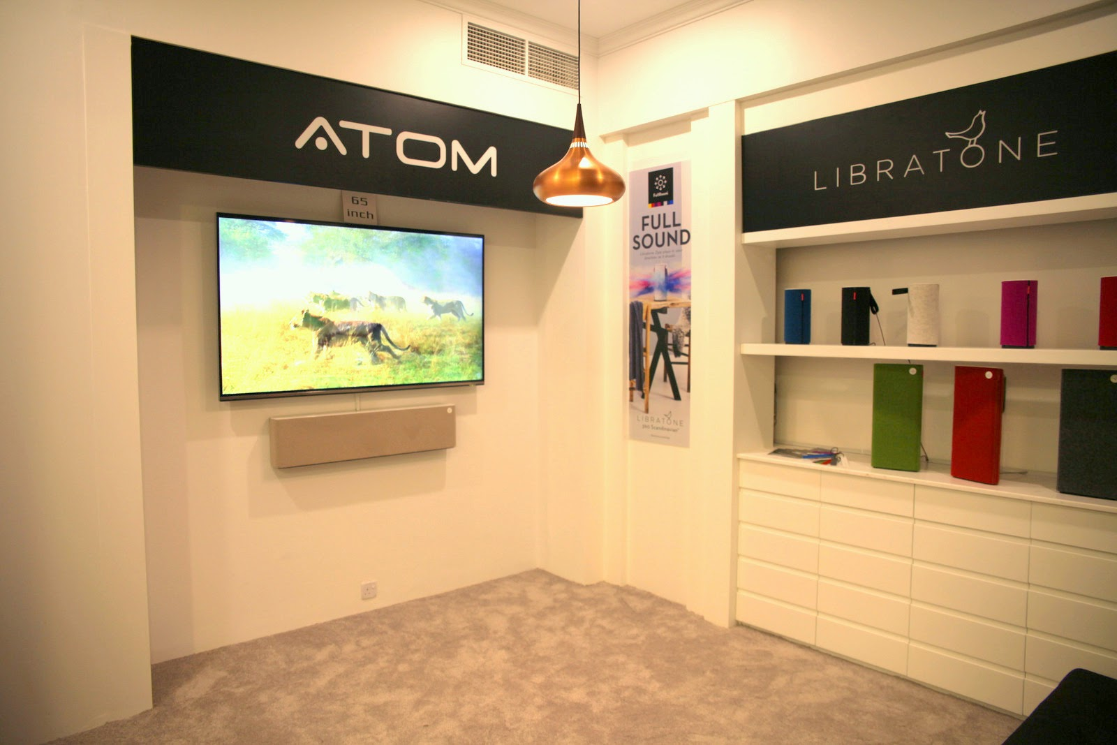 Atom Lifestyle System with Libratone