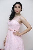 Sakshi Kakkar in beautiful light pink gown at Idem Deyyam music launch ~ Celebrities Exclusive Galleries 051.JPG