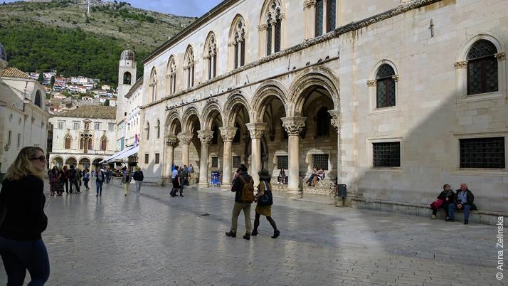 Старый город Дубровник, площадь