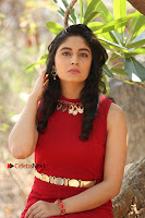 Telugu Actress Zahida Sam Latest Pos in Red Gown at RF Films New Movie Opening  0281.JPG