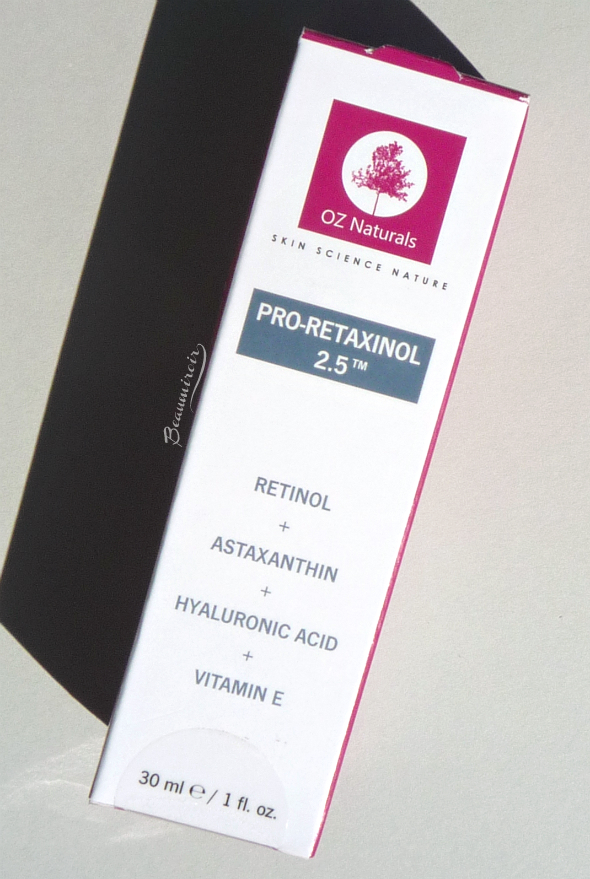 OZ Naturals Retinol Serum: an anti-aging treatment combining retinol and plants