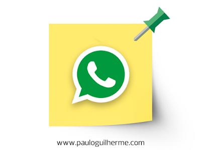 Como fixar conversas ou grupos do WhatsApp no topo