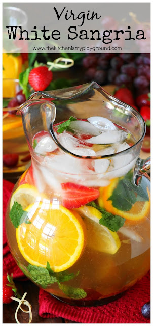 Virgin White Sangria pin image