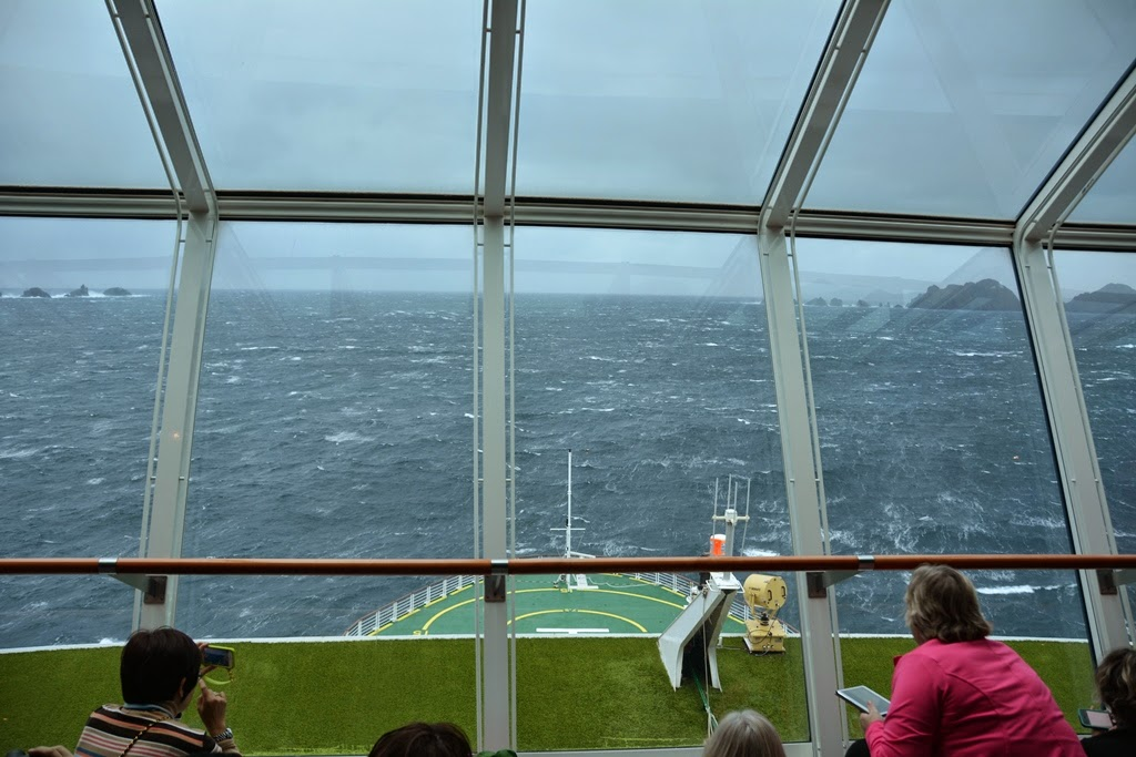 Cruising Cape Horn Celebrity lounge
