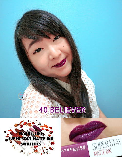Maybelline Super Stay Matte Ink 40 BELIEVER