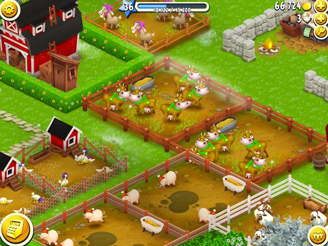 لعبة المزرعة السعيدة الجديدة Hay Day 2018