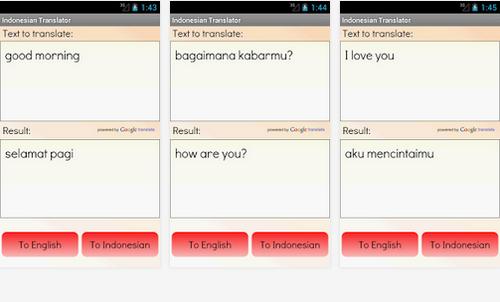 5 Aplikasi android Terjemahan Bahasa Inggris – Indonesia Terbaik