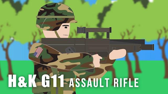 G11 được Heckler & Koch chế tạo với 3 biến thể gồm: G11 - Súng trường tấn công, LMG11 - Súng máy hạng nhẹ (trung liên) và G11 PDW
