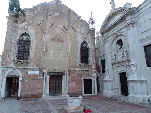 escuela vieja misericordia Venecia sin fachada