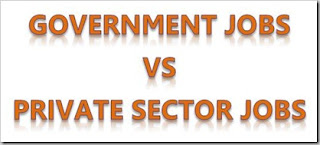 Private Jobs Vs Government Jobs