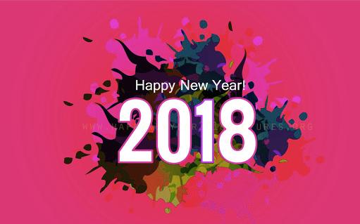 Gambar Wallpaper Selamat Tahun Baru 2018