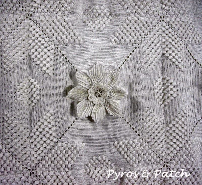 Pyros Patch Spiegazioni Modulo Coperta Matrimoniale Crochet