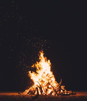 焚き火 炎