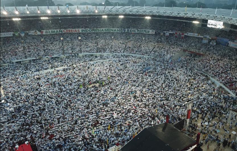 Ustadz Felix Siauw Posting Foto Kampanye Prabowo-Sandi di GBK dan Doakan Mereka