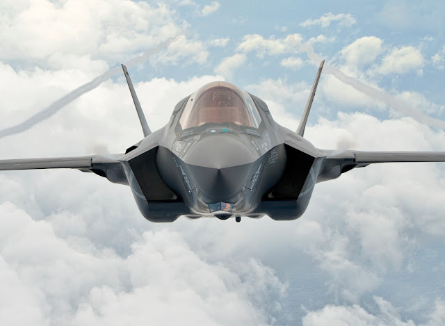 F-35 Front Photoshoot