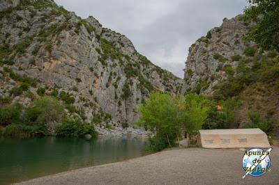 Campamento arqueológico en Tautavel
