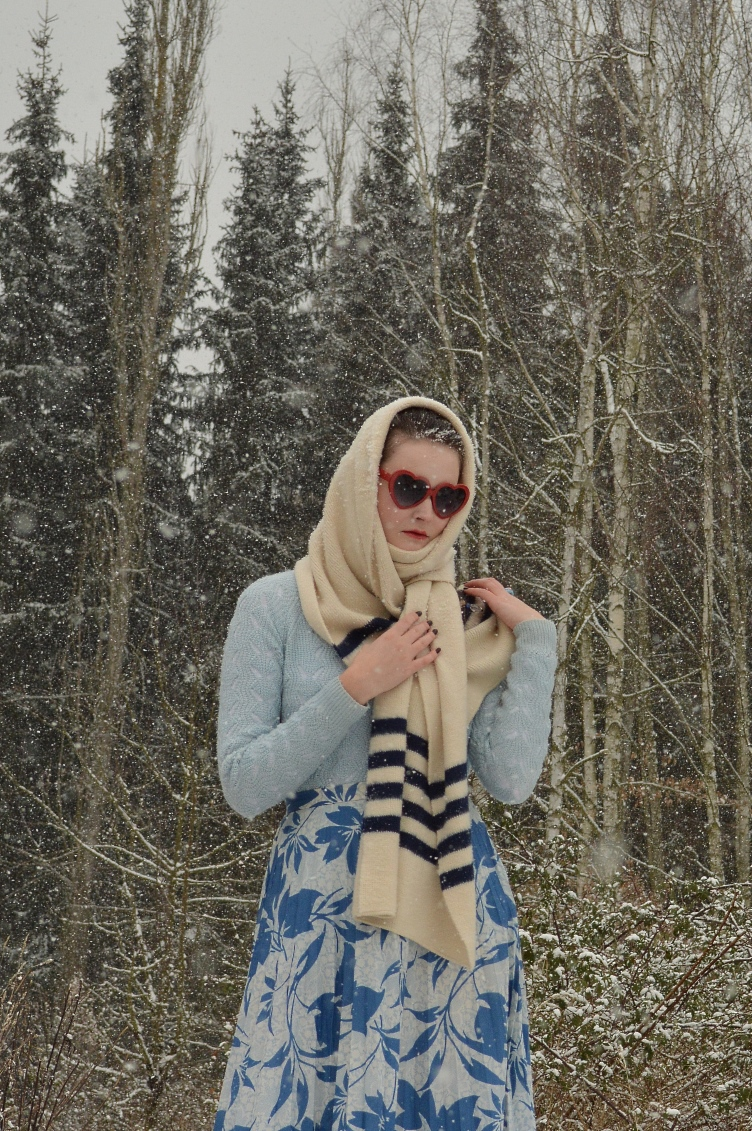 winter outfit, vintage, georgiana, quaint, quaintrelle,midi skirt, personal style blogger,fashion, trend, ootd, F&F, Deichmann, New Yorker,