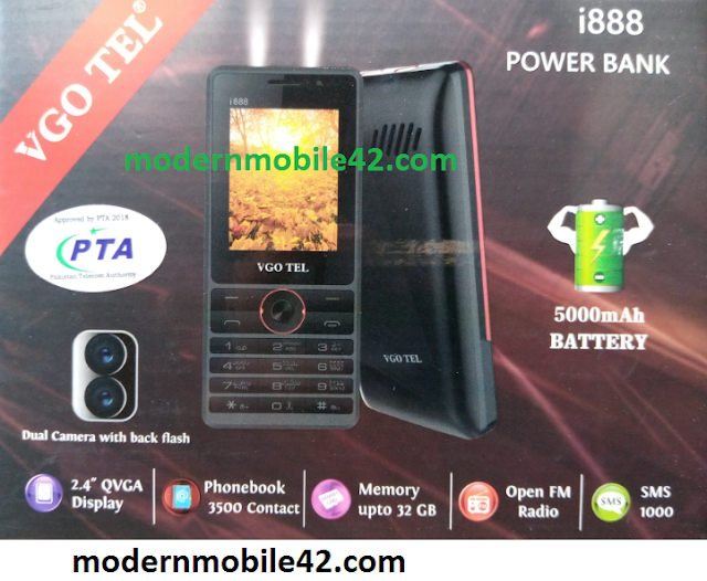 VgoTel i888 Firmware Flash file