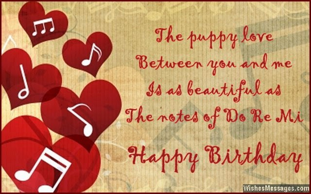 Images of Happy Birthday Wishes for Boyfriend