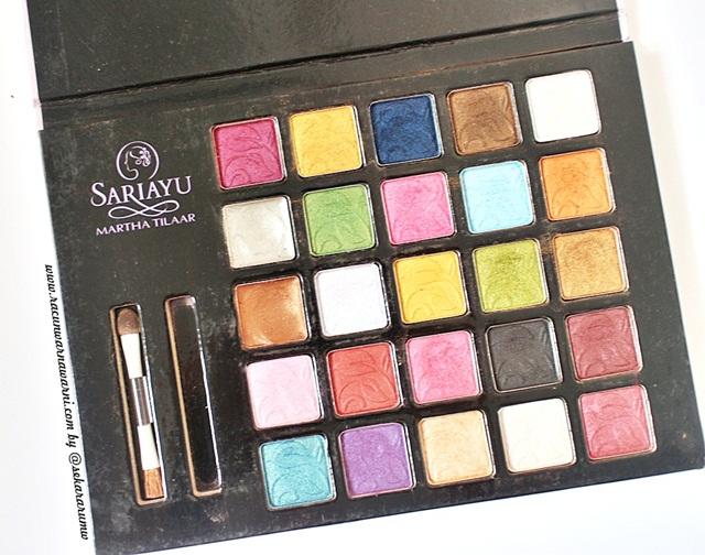 Sariayu Eyeshadow Palette