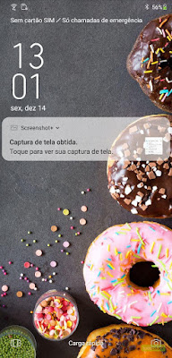 Tampilan Zenfone 5 Android Pie Lockscreen