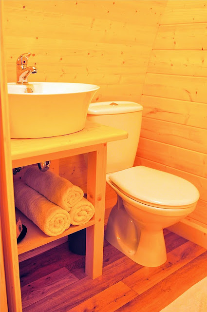 case prefabbricate in legno - bagno