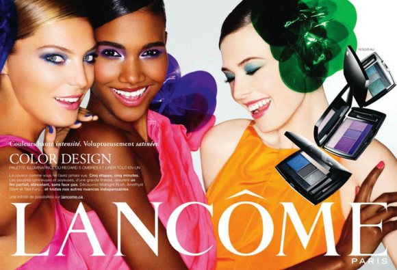 Lancome Color Design Campaign