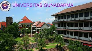 Universitas Swasta Terbaik Di Indonesia 2016 versi DIKTI - universitas gunadarma