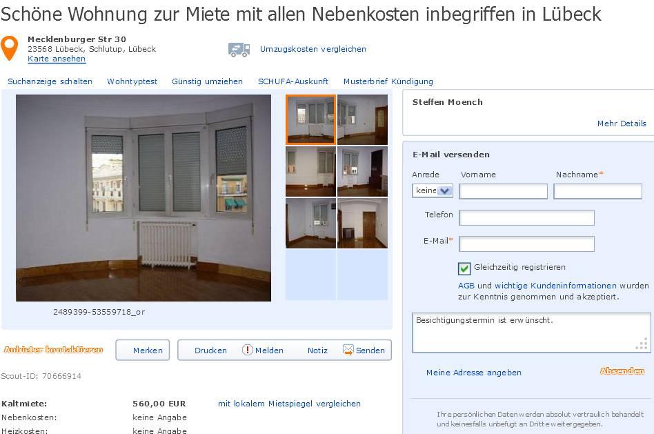 Wohnungsbetrug.blogspot.com: Alias Steffen Moench Schöne