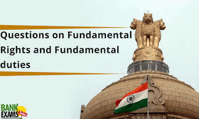 Questions on Fundamental rights and Fundamental duties