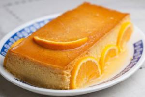 Natilla de Naranja con Caramelo