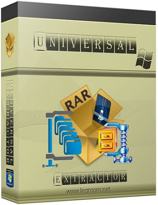 Universal Extractor 1.6.1.2023 poster box cover