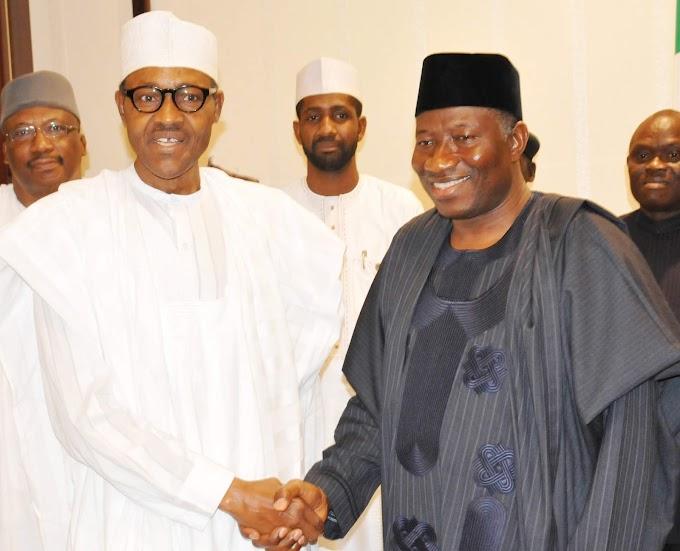 Your life an inspiration to Nigerians – Buhari tells Jonathan
