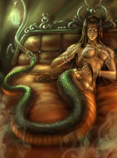 Мистическое существо : Ламия