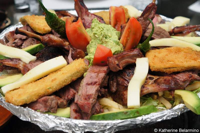 Meat Platter Restaurante El Nido Rosarito Baja California Mexico