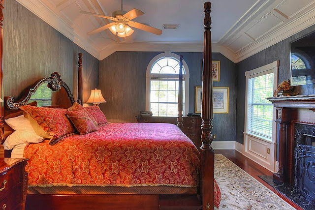 Master Bedroom-Southern Plantation Home-House Hunting- From My Front Porch To Yours