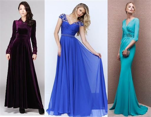 20 Gaun Dress Pesta Model Terbaru
