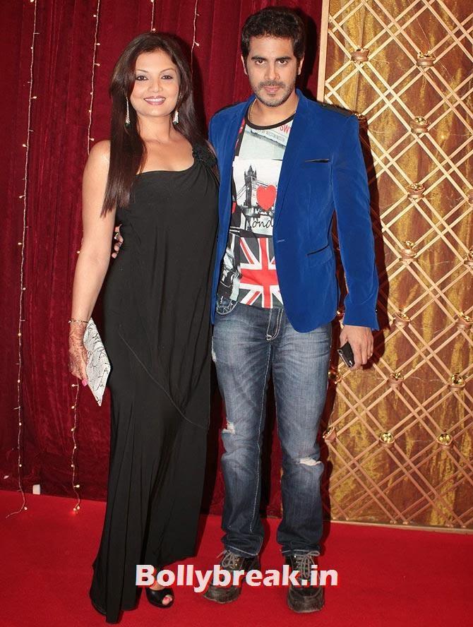 Deepshika Nagpal and Kaishav Arora on Indian Tele Awards 2013 Red carpet, Indian Tele Awards 2013 red Carpet Pictures - ITA - Lauren Gottlieb, Mouni Roy, Ratan Rajput