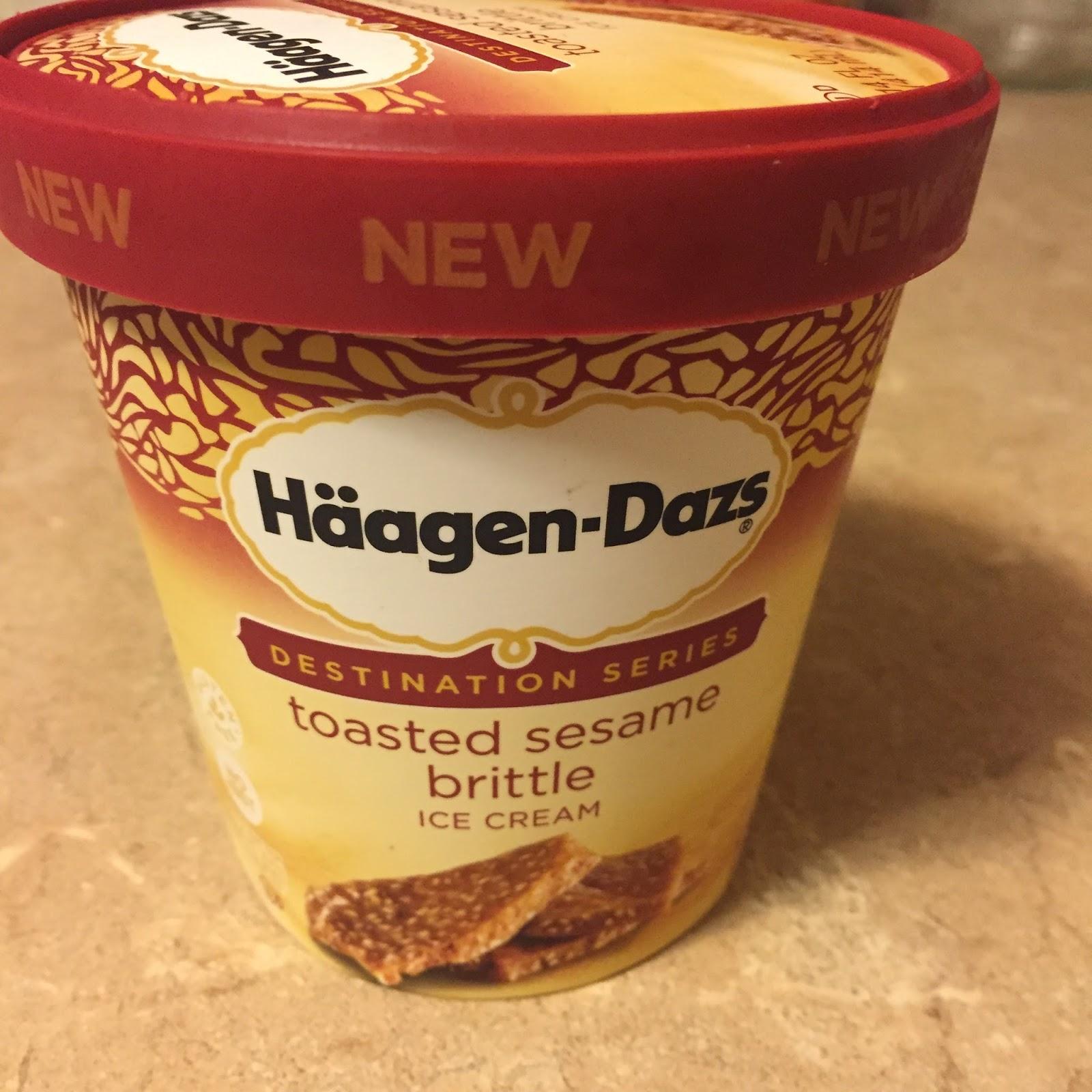 The Big Muddy Ice Cream Blog: Haagen-Dazs Toasted Sesame Brittle