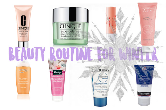 BEAUTY ROUTINE FOR WINTER