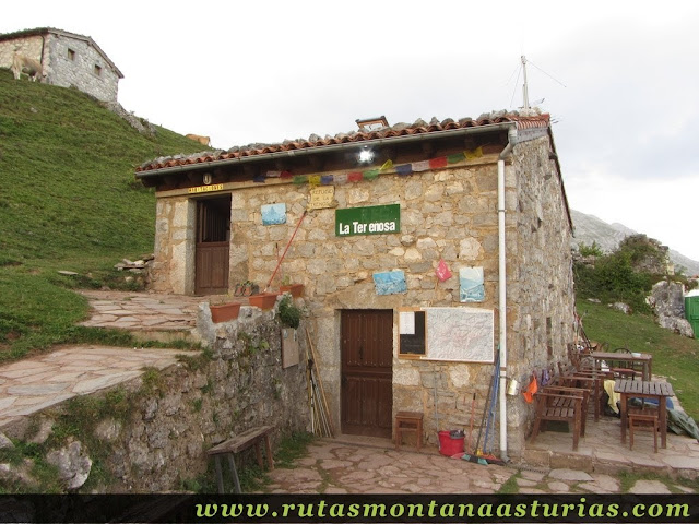 Ruta Caín Terenosa: Refugio de la Terenosa