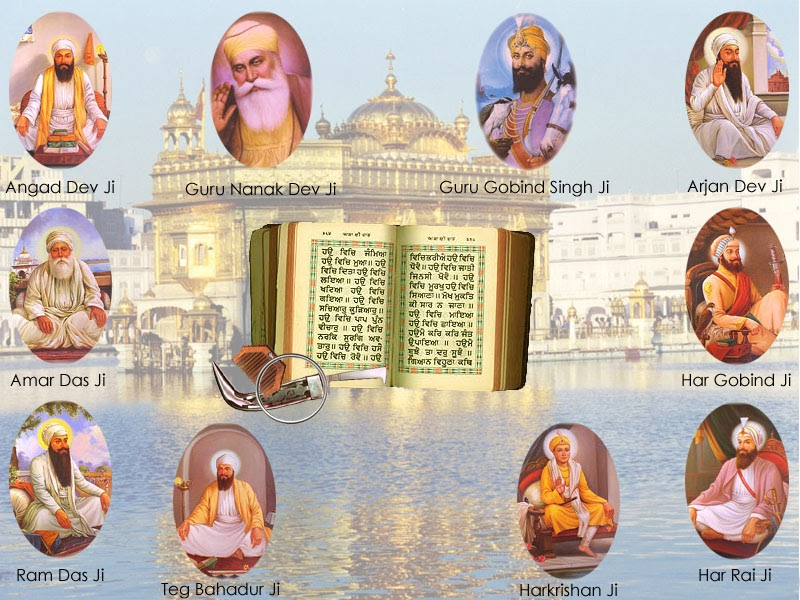 History of sikhs and present modern sikhs sikh gurus - Shri guru gobind singh ji wallpaper ...
