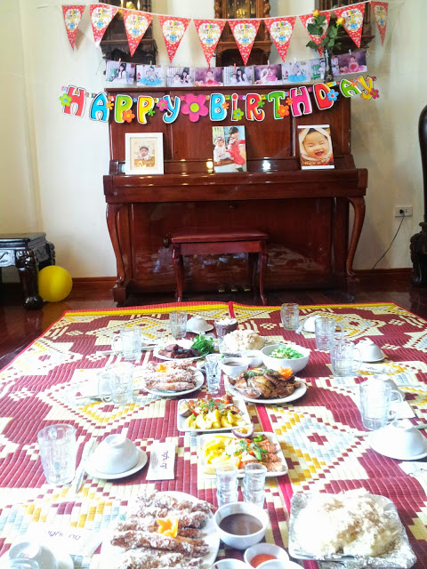 Đặt cỗ sinh nhật tại Hà Đông
